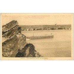 carte postale ancienne 22 ERQUY. Rochers de Follet à marée basse 1924