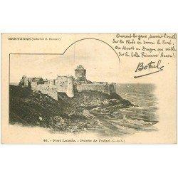 carte postale ancienne 22 FORT LALATTE. Pointe de Fréhel vers 1900