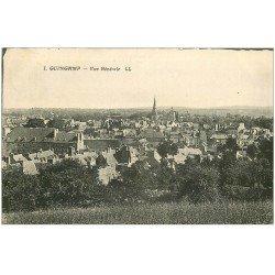 carte postale ancienne 22 GUINGAMP. Vue générale vers 1918
