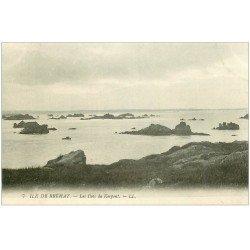 carte postale ancienne 22 ILE DE BREHAT. Les Ilots du Kerpont