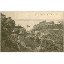 carte postale ancienne 22 ILE DE BREHAT. Vue de Bec per Nouan