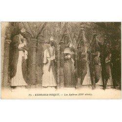 carte postale ancienne 22 KERMARIA-NISQUIT. Les Apôtres
