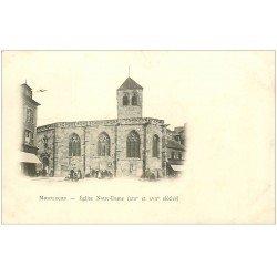 carte postale ancienne 03 MONTLUCON. Eglise Notre-Dame 1901