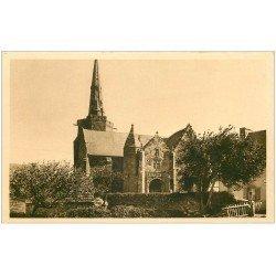 carte postale ancienne 22 PERROS-GUIREC. Eglise de la Clarté