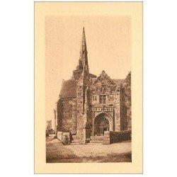 carte postale ancienne 22 PERROS-GUIREC. Eglise Notre-Dame de la Clarté LL 47