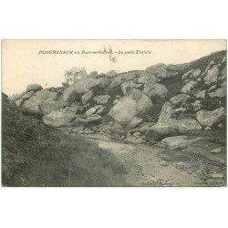 carte postale ancienne 22 PLOUMANACH en Perros-Guirec. Le Petit Troiëre