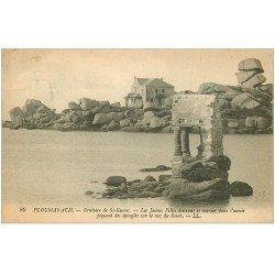 carte postale ancienne 22 PLOUMANACH. Oratoire de Saint-Guirec 1922