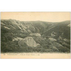 carte postale ancienne 22 PLOUMANACH. Vallée des Grands Troïeros