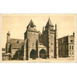 carte postale ancienne 22 SAINT-BRIEUC. La Cathédrale. Edition Hamonic