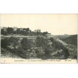 carte postale ancienne 22 SAINT-BRIEUC. Les Nouveaux Boulevards et Vallée de Toupin