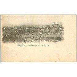 carte postale ancienne 03 MONTLUCON. Panorama de la Vieille Ville