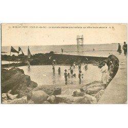 carte postale ancienne 22 SAINT-QUAY-PORTRIEUX. Piscine pour enfants