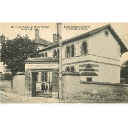 carte postale ancienne 77 AVON. Ecole des Pupilles Uruguay-France. Entrée de l'Ecole