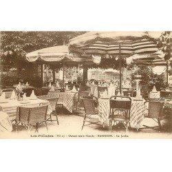 carte postale ancienne 77 BARBIZON. Jardin Restaurant Les Pléïades