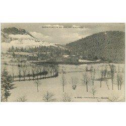 carte postale ancienne 01 HAUTEVILLE. Et Col de Mazière