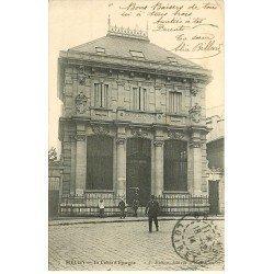 carte postale ancienne 77 MELUN. La Caisse d'Epargne 1914