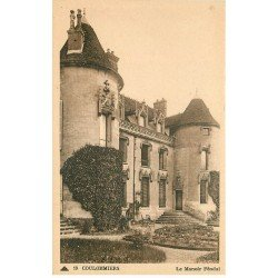 carte postale ancienne 77 COULOMMIERS. Manoir Féodal