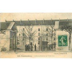carte postale ancienne 77 FONTAINEBLEAU. Caserne Damesme 1913 46° Infanterie