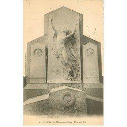 carte postale ancienne 77 MELUN. Monument Chapu. L'Immortalité 1905
