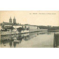 carte postale ancienne 77 MELUN. Maison Centrale 1931