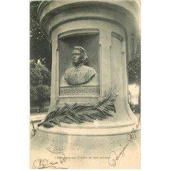 carte postale ancienne 77 FONTAINEBLEAU. Buste de Rosa Bonheur vers 1902