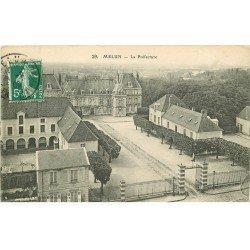 carte postale ancienne 77 MELUN. La Préfecture 1909