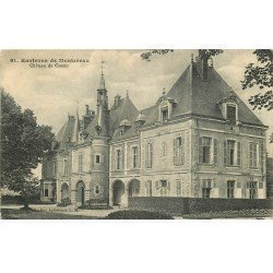 carte postale ancienne K. 77 CHATEAU DE CANNES vers Montereau vers 1920