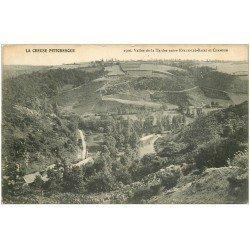 carte postale ancienne 23 TARDES la Vallée entre Evaux-les-Bains et Chambon 1916