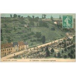 carte postale ancienne 23 AUBUSSON. Le Concours Agricole