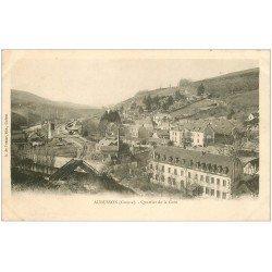 carte postale ancienne 23 AUBUSSON. Quartier de la Gare vers 1900
