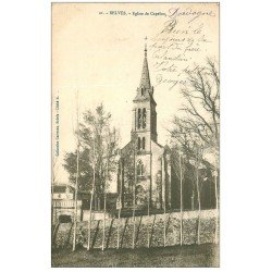 carte postale ancienne 24 BELVES. Eglise de Capelou 1903