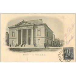 carte postale ancienne 24 BERGERAC. 1901 le Palais de Justice