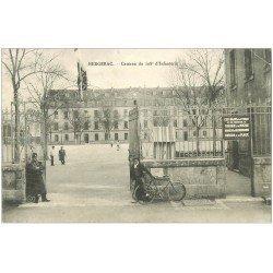 carte postale ancienne 24 BERGERAC. Caserne du 108° d'Infanterie 1906
