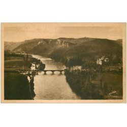 carte postale ancienne 24 BEYNAC. Les Châteaux