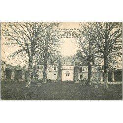 carte postale ancienne 24 CHATEAU DE BEAULIEU et Allée des Marronniers