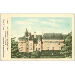 carte postale ancienne 24 Châteaux du Périgord. CHATEAU-L'EVEQUE. Collection de la Solution Pautauberge