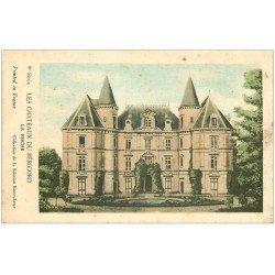 carte postale ancienne 24 Châteaux du Périgord. LA ROCHE. Collection de la Solution Pautauberge