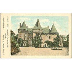 carte postale ancienne 24 Châteaux du Périgord. MARZAC. Collection de la Solution Pautauberge