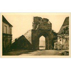 carte postale ancienne 24 DOMME. Porte Delbos