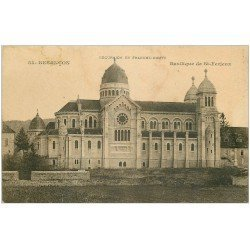 carte postale ancienne 25 BESANCON. Basilique de Saint-Ferjeux
