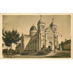 carte postale ancienne 25 BESANCON. Basilique Saint-Ferjeux 1938