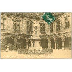 carte postale ancienne 25 BESANCON. Cour du Palais Granvelle 1915