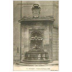 carte postale ancienne 25 BESANCON. Fontaine des Dames