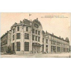carte postale ancienne 25 BESANCON. Hôtel des Postes