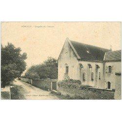 carte postale ancienne 25 BONNAY. Chapelle du Couvent