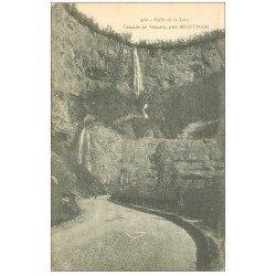 carte postale ancienne 25 CHASCADE DE SYRATU près Mouthier