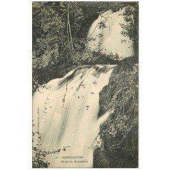 carte postale ancienne 25 CONSOLATION. Chute du Dessoubre 1909