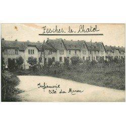 carte postale ancienne 25 FESCHES-LE-CHATEL. Infirmerie Cité du Maroc