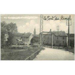 carte postale ancienne 25 FESCHES-LE-CHATEL. Le Pont du Canal
