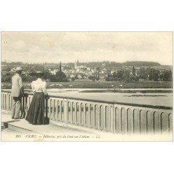 carte postale ancienne 03 VICHY. Bellerive Pont sur l'Allier